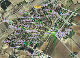 Aquí es poden veure uns quants nodes que connecten a un supernode