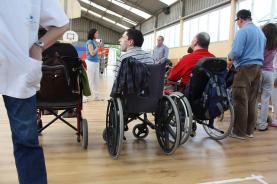Persones amb discapacitat. Font: brunosan (Flickr)