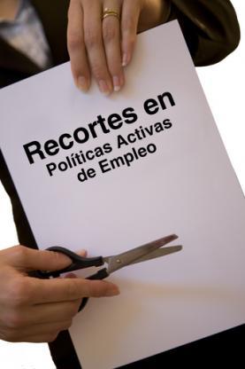 Recortes en Políticas Activas de Empleo, imatge de CCOO