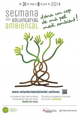 Cartell de la Setmana del Voluntariat 2014