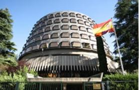 Imatge del Tribunal Constitucional espanyol