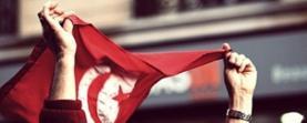 Bandera de Tunísia. Font: Espacios Europeos