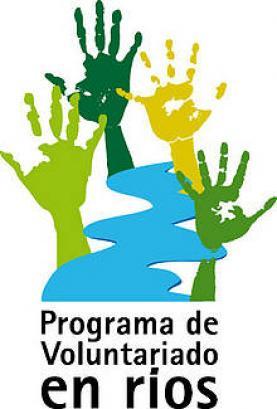 Logotip Programa de Voluntariado en rios
