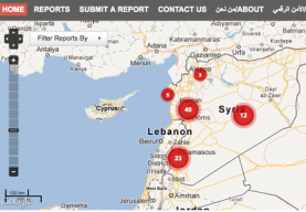 "Mapa de les agressions sexuals denunciada a ""Women Under Siege"""