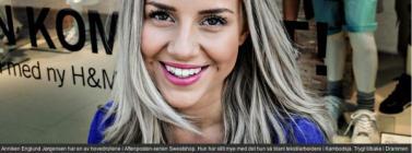 La bloguera Anniken Jørgensen denuncia les maques de roba