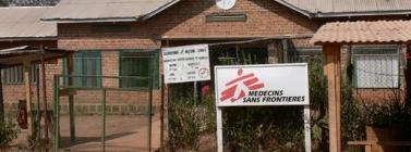 Hospital  de MSF a Boguila (Font: Catherine Robinso.MSF)