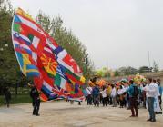 Imatge de banderes europees. Font: Comissió Europea