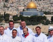 Alguns dels xefs fundadors a Jerusalem. Font: Chefs for Peace.