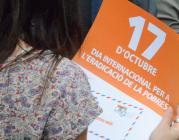 El Manifest contra la pobresa s'ha presentat el 17 d'octubre a Barcelona