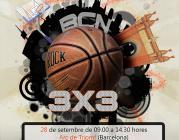 Cartell torneig de bàsquet inclusiu 3x3