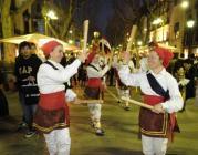 Bastoneres. Foto: Cases de la Festa, Ajuntament de Barcelona