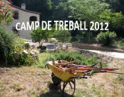El camp de treball 2012 se centra en un jardí sensorial