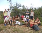 Camp ambiental i de treball 2013 al Montsec