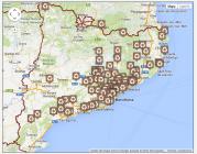 Mapa del European Clean Up Day a Catalunya