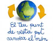 """Logotip del concurs """"El teu punt de vista pot canviar el món"""""""
