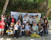 Jornada de neteja al riu Glorieta (imatge: Evelyn Segura, XVAC)