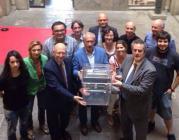 Representants de la Taula de Barcelona pel Dret a Decidir