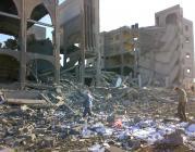 Escola, refugi i mesquita destrossades després d'un bombardeig a Gaza