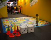Nena jugant en l'edició del Festival de 2009