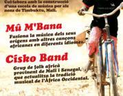 Cartell Concert Solidari Timbuktu Music Project