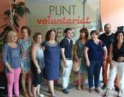 El Punt de Voluntariat de Reus celebra el seu primer aniversari amb 108 persones