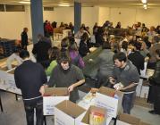 Més de 20.000 voluntaris van participar en la campanya.