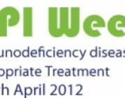 Logotip de la Setmana Mundial de les Immunodeficiències Primàries 2012