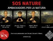 """Imatge de la campanya """"SOS NATURE Ambaixadors per la Natura"""""""