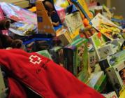 Recollida de joguines. Foto de Creu Roja Catalunya