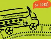 Cartell de la mostra audiovisual Llatinoamèrica projecCAT 2013