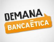 Logo de la campanya: Demana Banca ètica