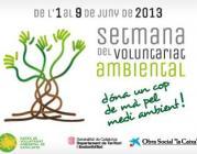 logo de la Setmana del Voluntariat Ambiental 2013