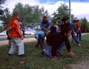 Nens al parc Font: Banc d'Imatges del Ministeri d'Educació