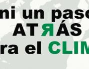 """""""Ni un paso atrás para el clima"""", campanya de WWF"""