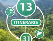 13 itineraris 31 propostes per a conèixer i viure el territori