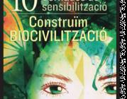 """Cartell de les jornades """"Construïm Biocivilització"""""""