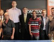 El projecte es promocionat per l'Eurolliga de bàsquet.