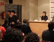 Membres del Teb recollint el premi l'any passat
