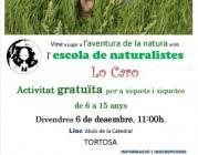 Jugar a l'aventura de la natura, a Tortosa