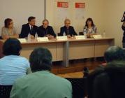 Imatge de la roda de premsa de Caritas