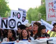 Protesta per una salut universal. Foto d'Amnistia Internacional