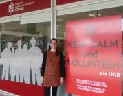 Sara Martínez, responsable tècnica de l'Àrea de Voluntariat de la FAS
