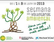 Setmana del Voluntariat Ambiental 2013