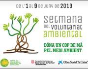logo de la Setmana del Voluntariat Ambiental