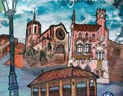 """Un dels dibuixos d'""""Una història granollerina"""". Il·lustració: Pau Farell"""