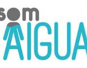 "Logo de la campanya ""Som aigua"""