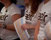 Voluntariat al Congrés de Fundraising. Imatge de la web del congrés