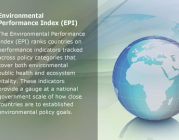 Imatge: Environmental Performance Index, a www.yale.edu