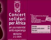 Concert Solidari per Àfrica