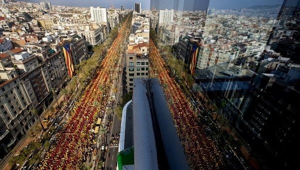 """Imatge de la """"v"""" catalana d'enguany - Font: lavanguardia.com"""